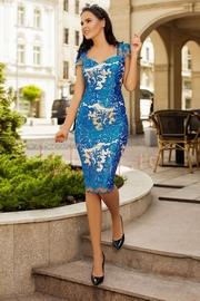 rochii de ocazie albastre scurte ieftine