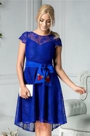 rochii de ocazie albastre scurte