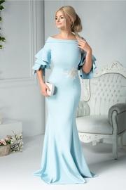 rochii de ocazie lungi albastre