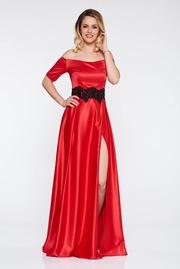 rochii de ocazie lungi rosii ieftine