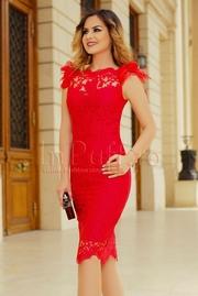 rochii de ocazie lungi rosii