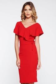 rochii de ocazie rosii scurte ieftine