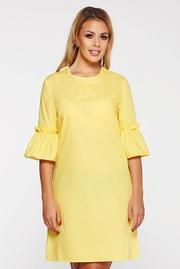 rochii de seara galbene scurte ieftine