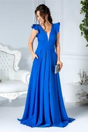 rochii de seara lungi albastre 2018