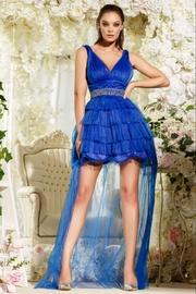rochii de seara lungi albastre ieftine