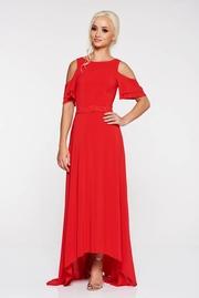 rochii de seara lungi rosii ieftine