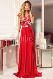 rochii de seara lungi rosii