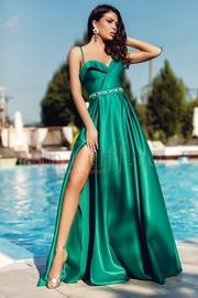 rochii de seara lungi verzi