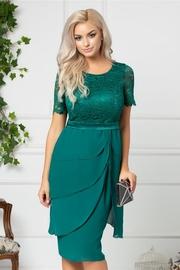 rochii de seara verzi scurte