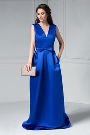 rochii elegante lungi albastre