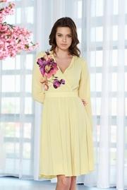 rochii elegante lungi galbene ieftine