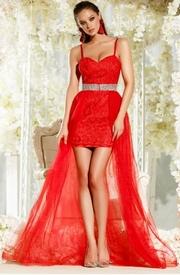 rochii elegante lungi rosii ieftine