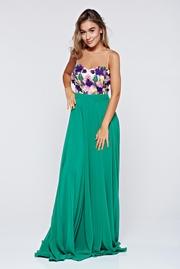 rochii elegante lungi verzi ieftine