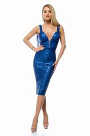 rochii elegante scurte albastre