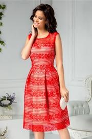 rochii elegante scurte rosii