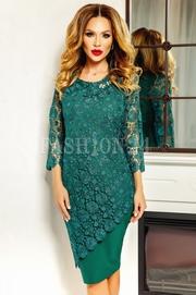 rochii elegante scurte verzi ieftine