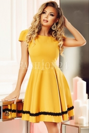 rochii galbene lungi de seara ieftine