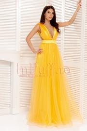 rochii galbene lungi de vara vaporoase