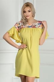 rochii galbene lungi de vara