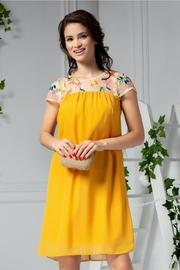 rochii galbene lungi de zi