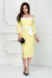 rochii galbene lungi elegante ieftine
