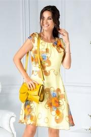 rochii galbene scurte de vara