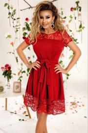 rochii rosii lungi de zi
