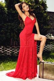 rochii rosii lungi elegante pentru nunta