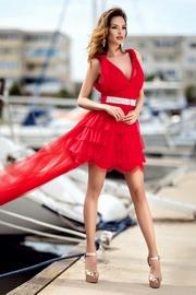 rochii rosii lungi elegante