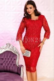 rochii rosii lungi online