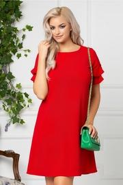 rochii rosii scurte de seara