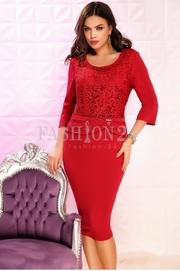 rochii rosii scurte elegante de nunti