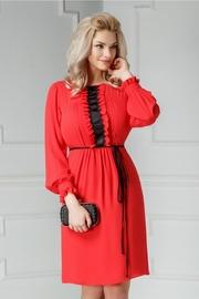 rochii rosii scurte elegante de seara