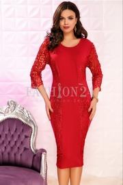 rochii rosii scurte elegante pentru botez