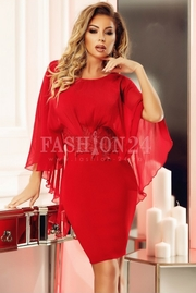 rochii rosii scurte elegante pentru nunta