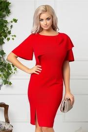 rochii rosii scurte elegante
