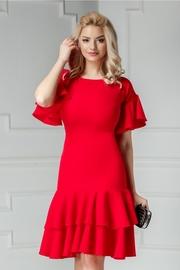 rochii rosii scurte online