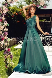 rochii verzi lungi de seara ieftine