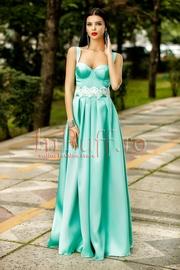 rochii verzi lungi de vara ieftine