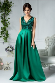 rochii verzi lungi de vara