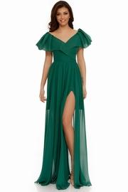 rochii verzi lungi elegante de seara