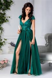 rochii verzi lungi elegante ieftine