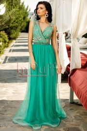 rochii verzi lungi elegante pentru nunta