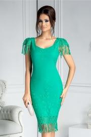 rochii verzi lungi elegante