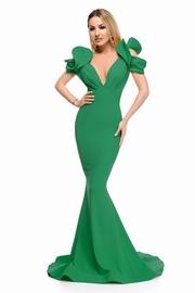 rochii verzi lungi sirena