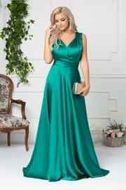 rochii verzi lungi tip sirena