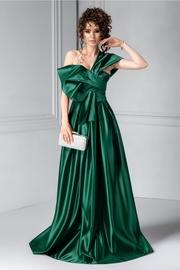 rochii verzi lungi vaporoase