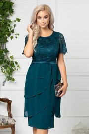 rochii verzi scurte de zi