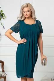 rochii verzi scurte elegante de nunta