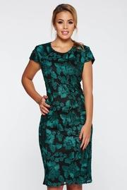 rochii verzi scurte elegante de nunti